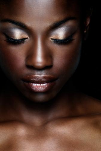 beautiful melanated black queen