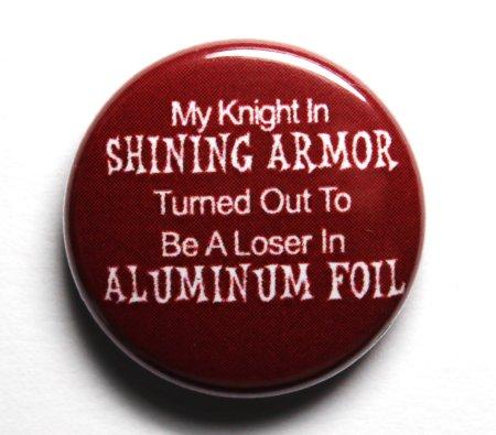 knight in shinging armor fail