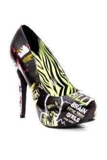 Too Fast Monster Girls Square Peg Platform Heel - $49.99