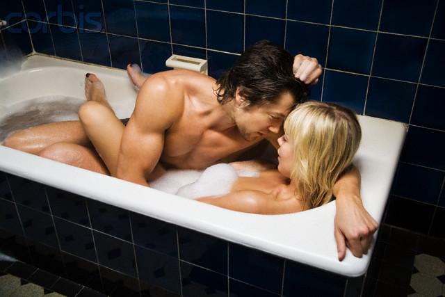 Couple in Bathtub