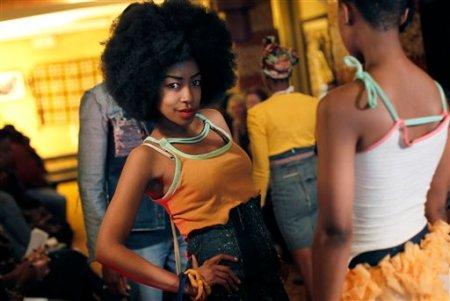 South Africa-Fashion Week Tebogo Lehlabi