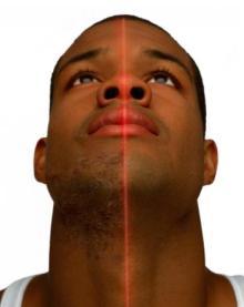 black man face