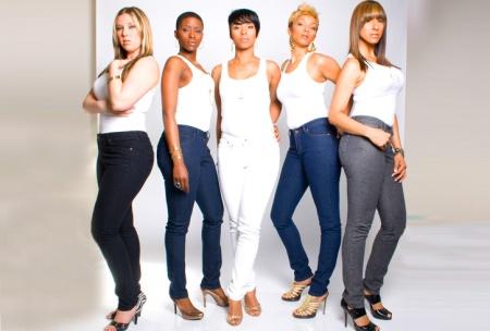 women in jeans