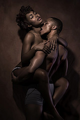 Black couple Having Sex