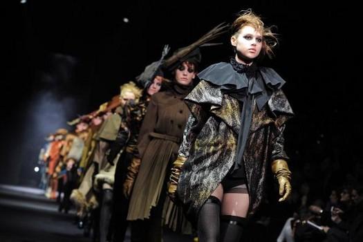 John Galliano: Runway - Paris  Fashion Week Womenswear Fall/Winter 2012