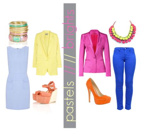pastels vs brights
