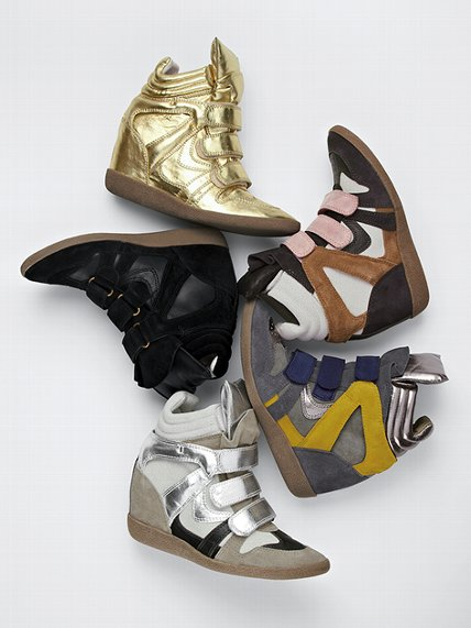 wedge sneaker