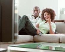 Black-Couple-Watching-TV