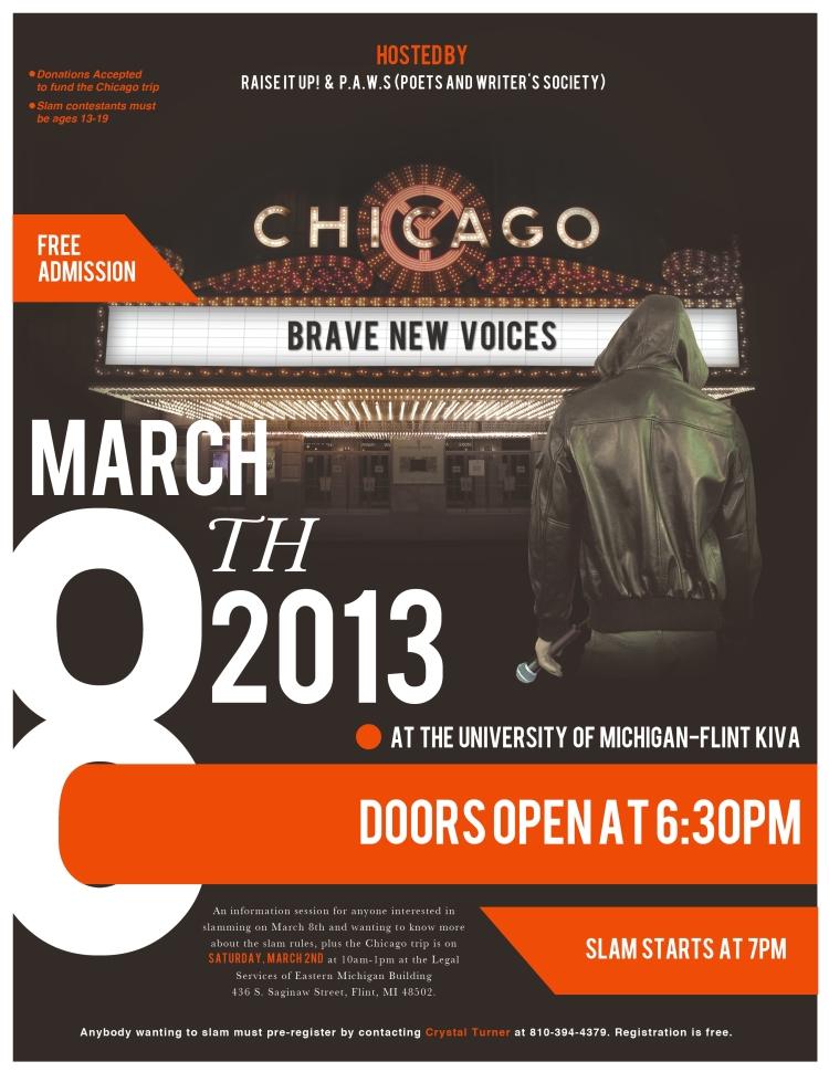 Official BNV 2013 Flyer
