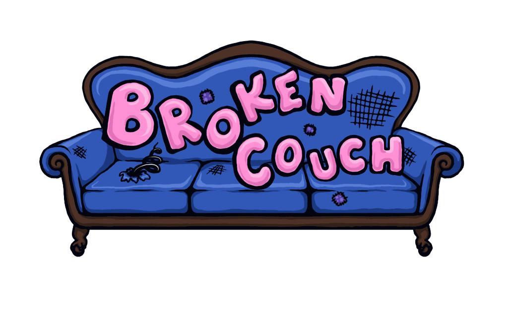 broken couch