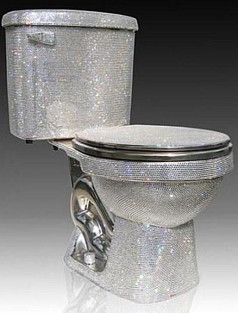crystal toilet
