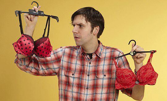 man with bras