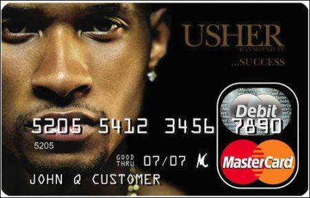 usher card