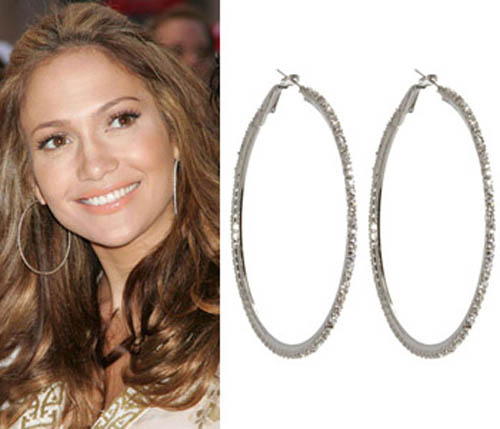 large-silver-hoop-earrings