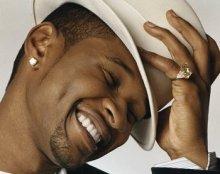 Usher male diamond earrings