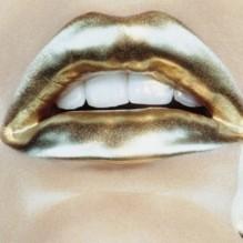 gold-lips-lipstick-metallic-mouth