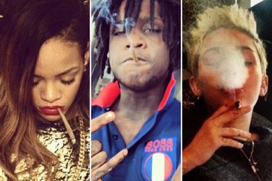 Rihanna-Chief-Keef-Miley-cy