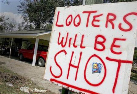 looterswillbeshot