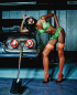Top Story: Naomi Campbell Posing Next to a Tool
