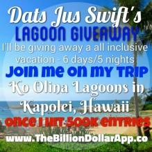 Lagoon Giveaway
